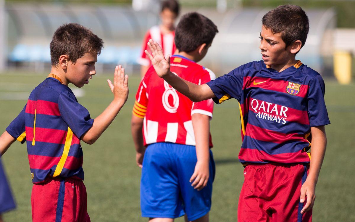 Debuts de Lliga amb victòries i campions de tornejos en el futbol formatiu