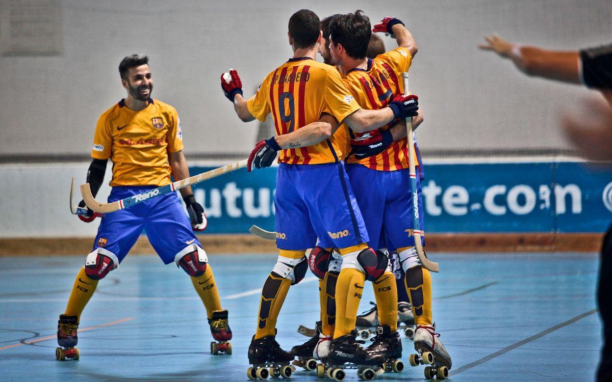 Enrile PAS Alcoi - FC Barcelona Lassa: Estrena amb victòria treballada (3-5)