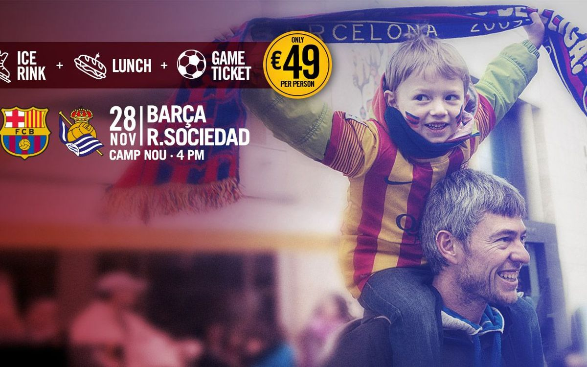 Barça Package: a full day to spend with the family