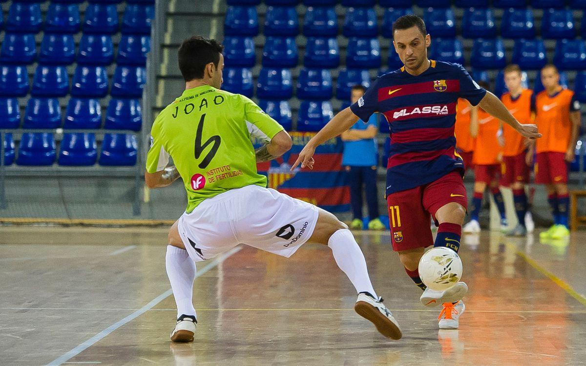 FC Barcelona Lassa - Palma Futsal: Centrats en el partit de Lliga