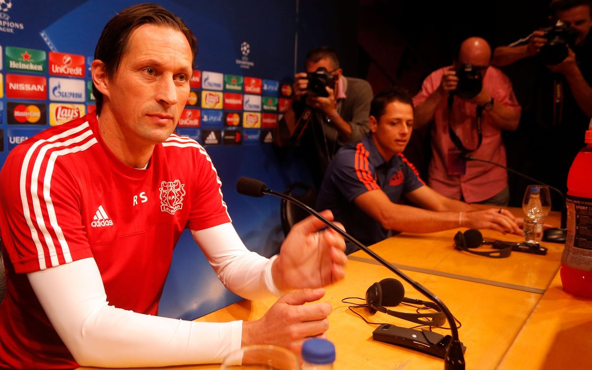 Self-belief the answer for Bayer Leverkusen coach Roger Schmidt