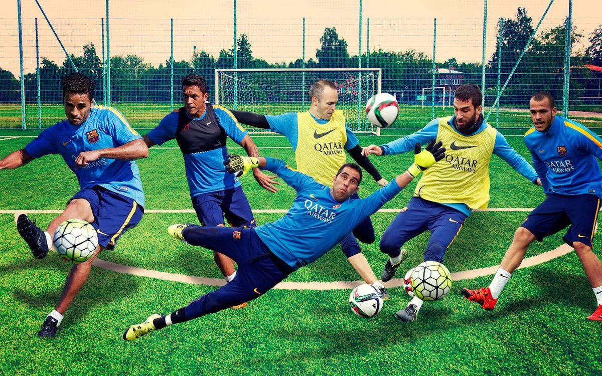 La qualitat de l'entrenament del Barça des de dins