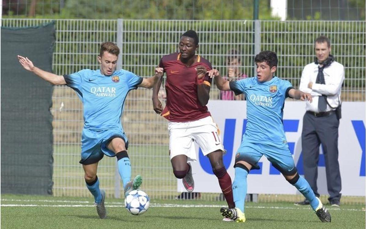 AS Roma v FC Barcelona U19: Goal-less start to European campaign (0-0)