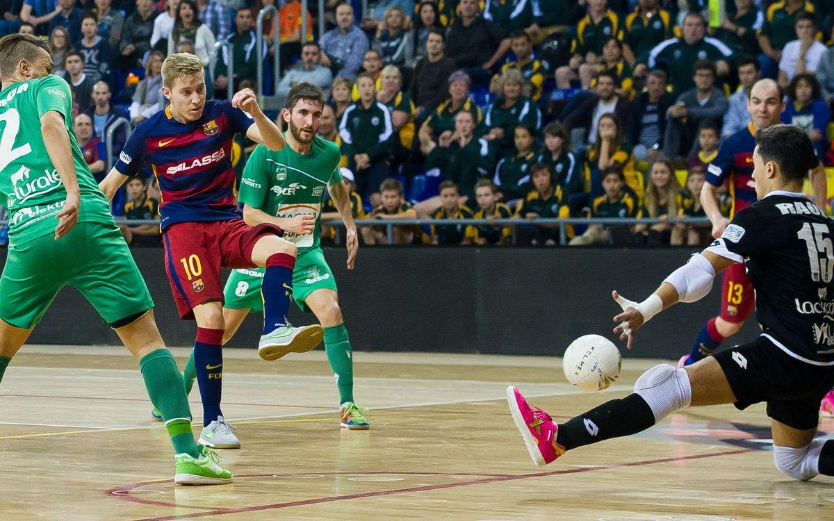 El Barça Lassa quiere la décima victoria en la Liga