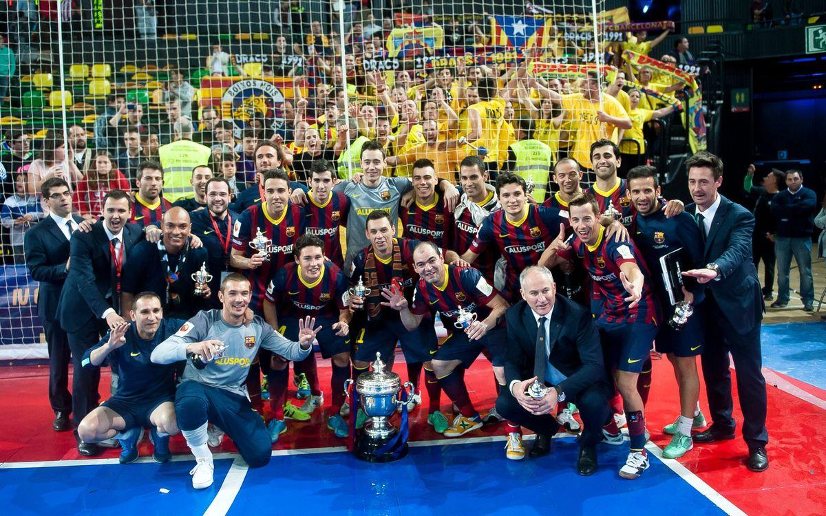 Tots els rècords del Barça Lassa a la Copa del Rei