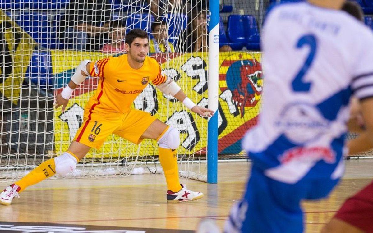 Feixas, l'últim debutant del Barça Lassa