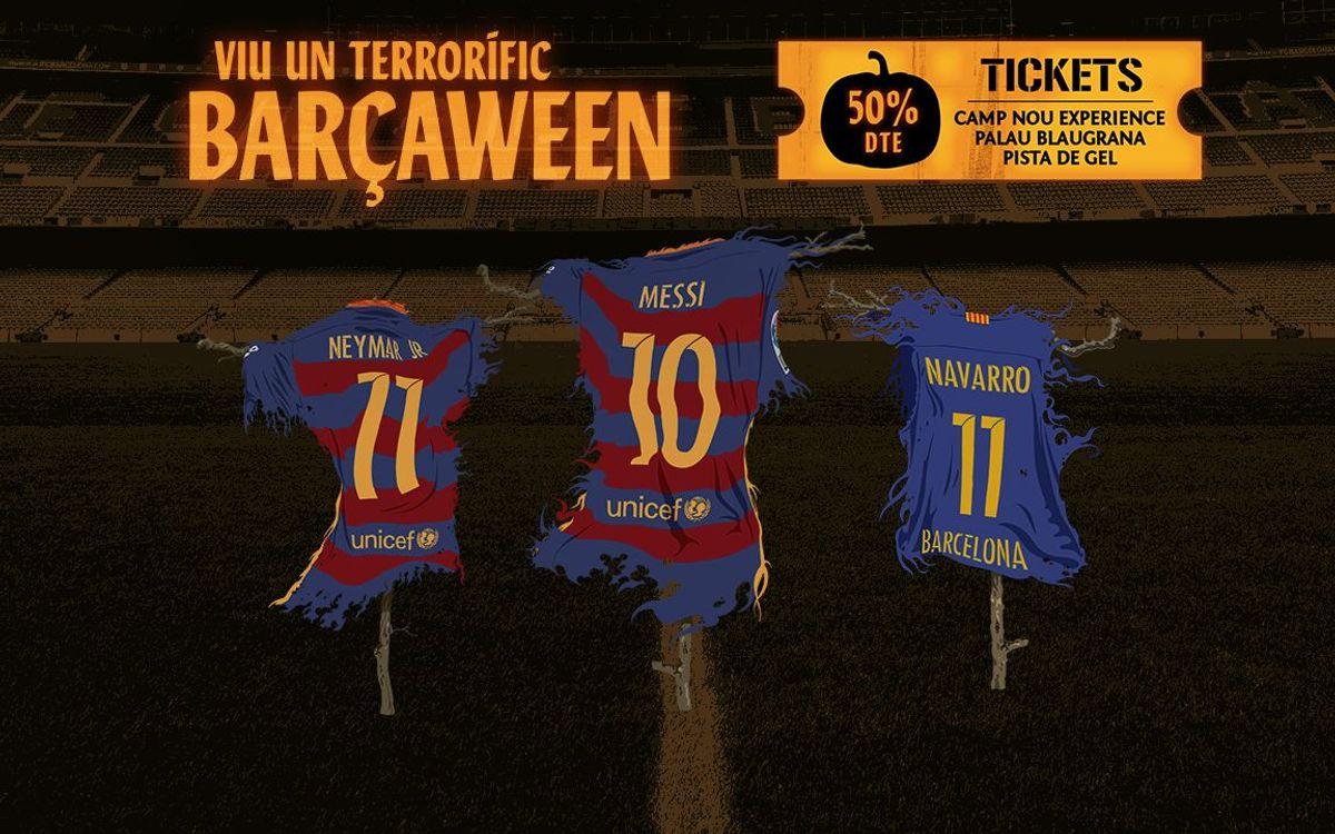 El Barçaween, una manera diferent de viure el Halloween