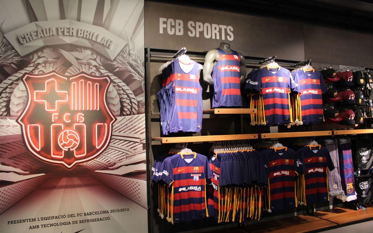 La FCBotiga pone a la venta las nuevas camisetas de las secciones profesionales