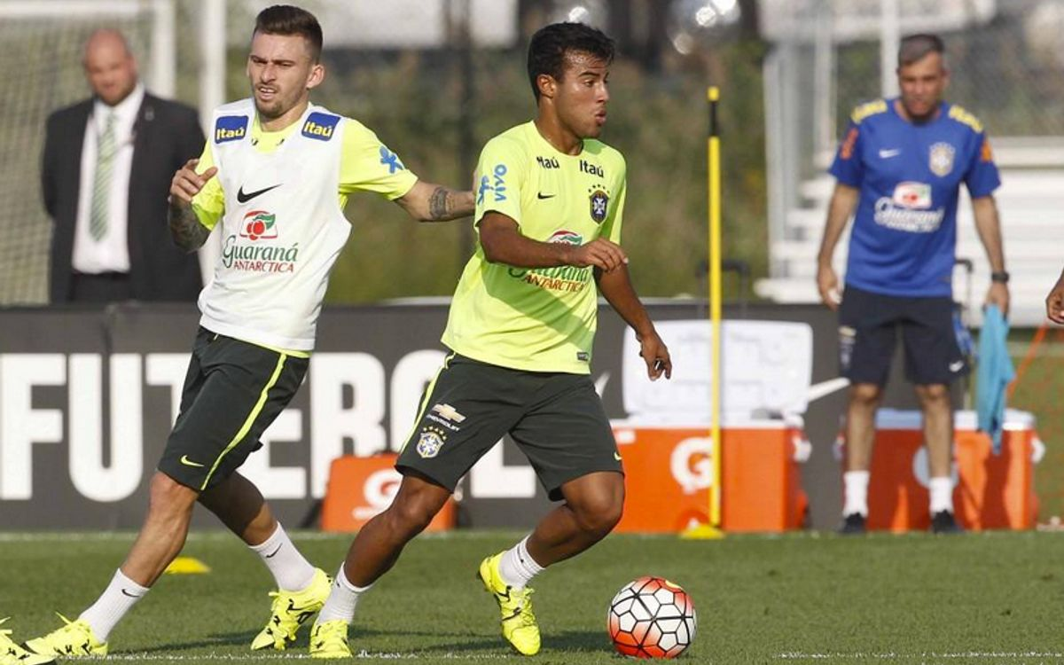 Rafinha Alcántara makes Brazil debut