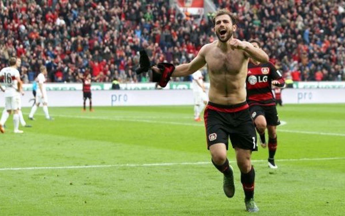 El Bayer Leverkusen venç l'Stuttgart després d'una espectacular remuntada (4-3)