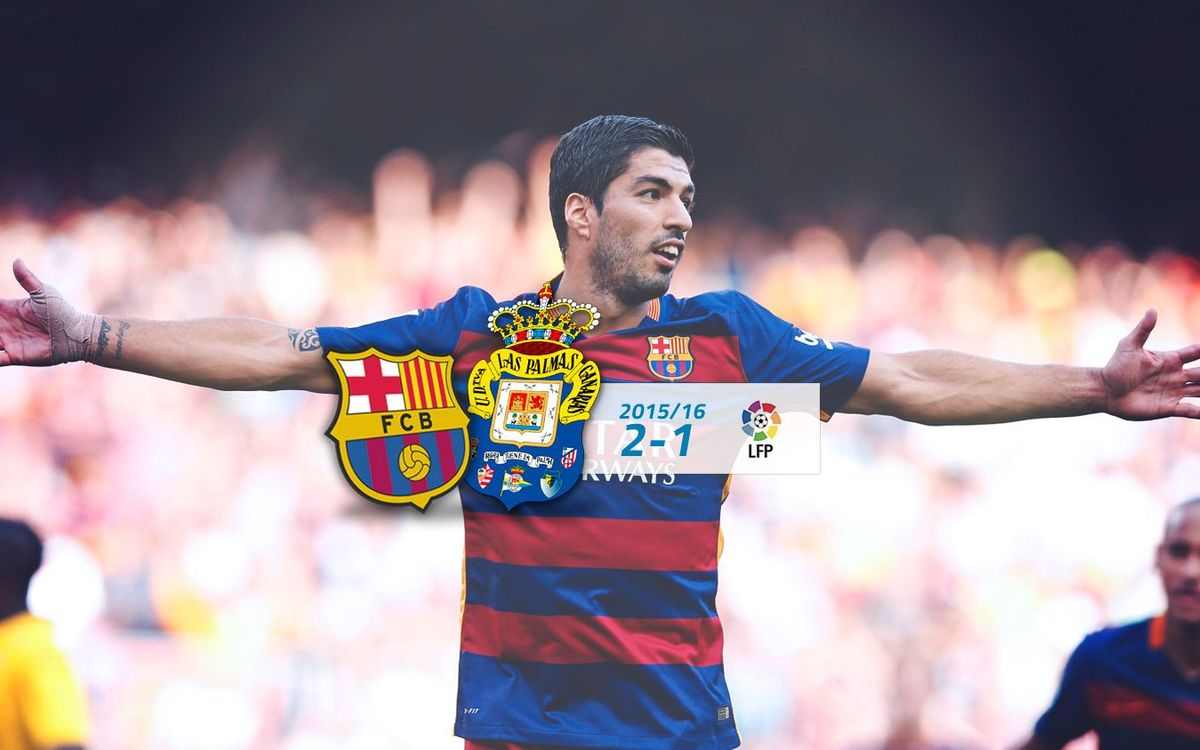 FC Barcelona: 2 - Las Palmas: 1