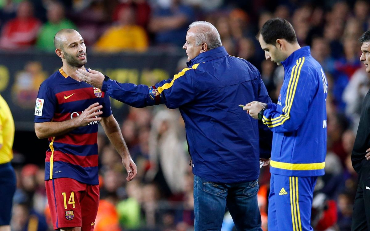 FC Barcelona to appeal Mascherano red card against Eibar