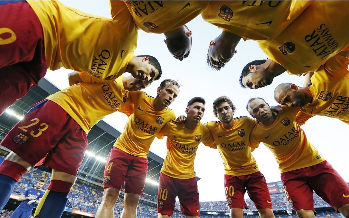 FC Barcelona first team to play seven games in 22 days