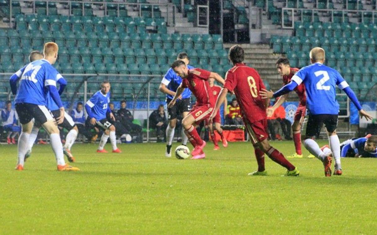 Espanya sub-21, amb Munir, venç a Estònia (0-2)