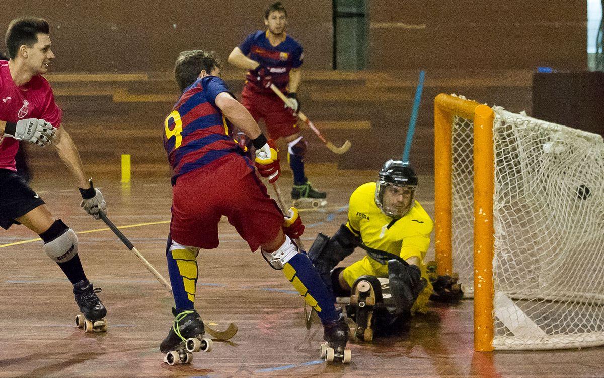 El Barça B de hockey patines, líder de la Primera Nacional