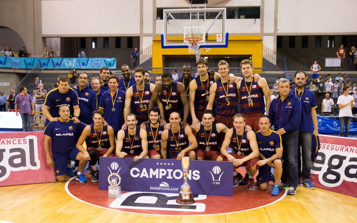 Morabanc Andorra - FC Barcelona Lassa: Catalan League Champions (65-68)