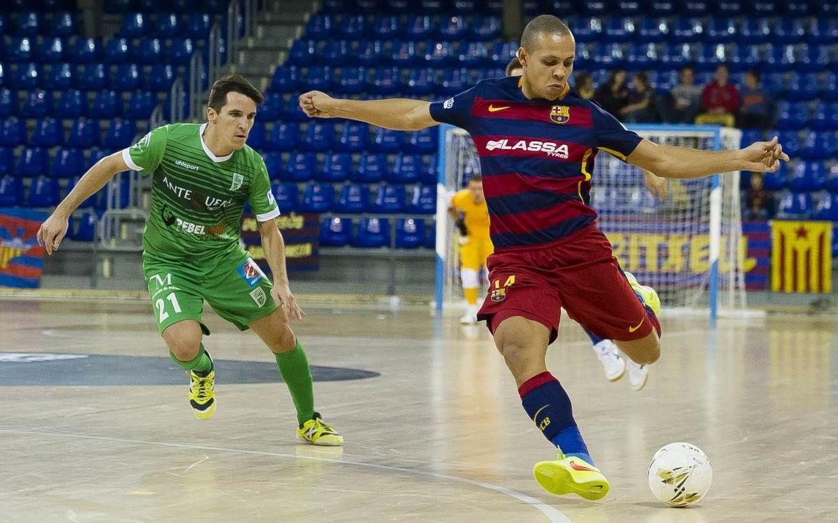 FC Barcelona Lassa- UMA Antequera: Unlucky draw (5-5)