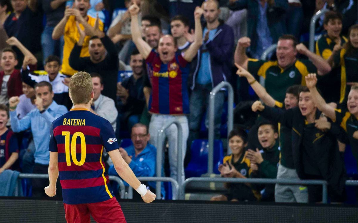 FC Barcelona Lassa v Magna Navarra: Bateria late show saves the day (4-3)