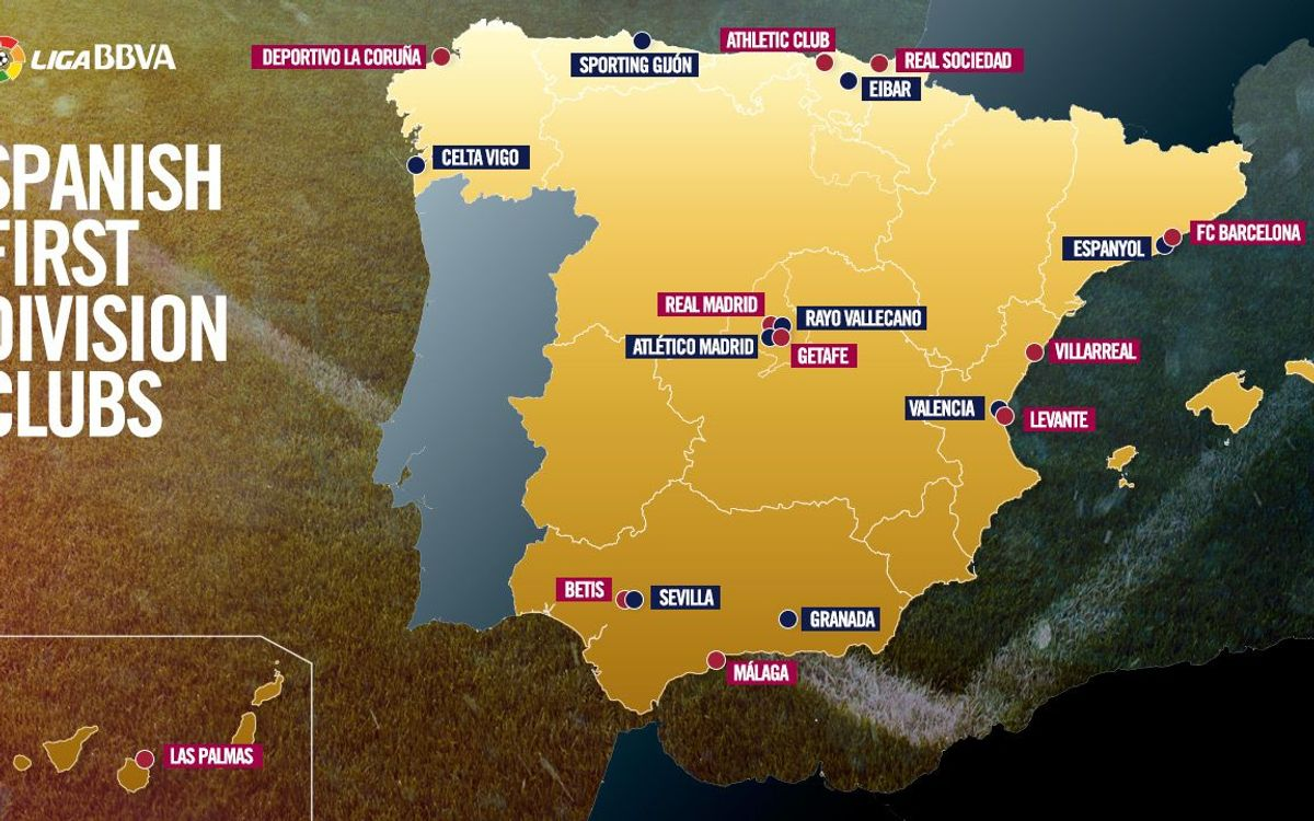 Destination La Liga: FC Barcelona's away trips 2015/16