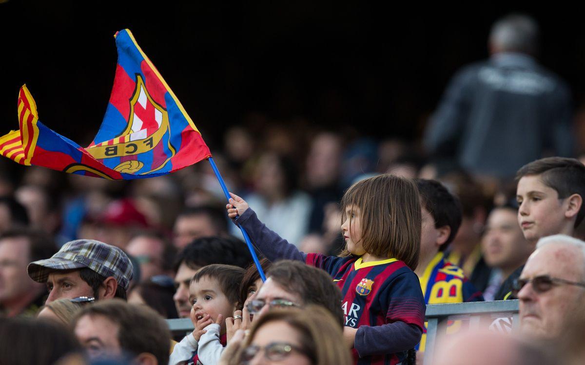 Exhaurides les entrades gratuïtes reservades per a nens i passaports infantil i sènior per al partit de la Reial Societat