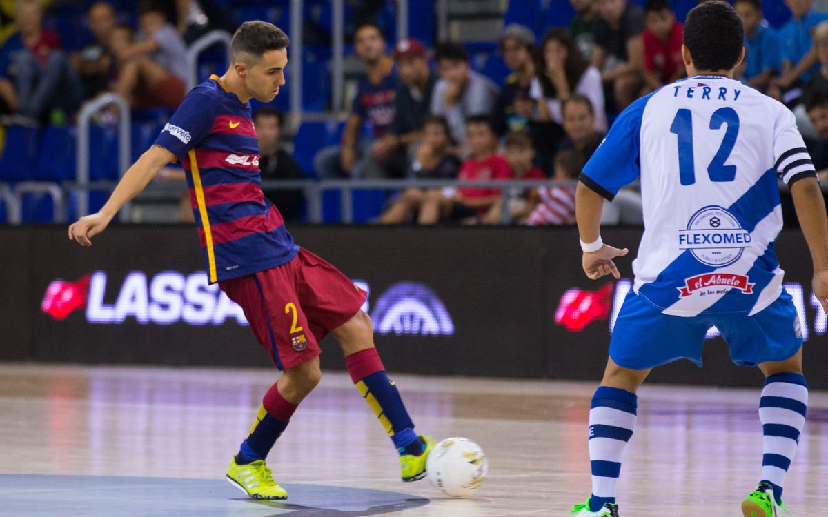 El Barça Lassa jugarà davant l'Agüimes FS, de Gran Canària, els setzens de Copa del Rei