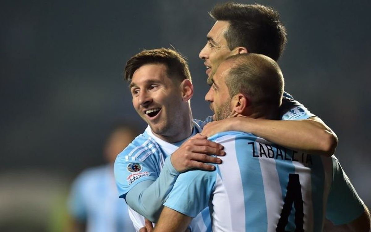 Messi, Mascherano and Ter Stegen ready for Argentina and Germany games