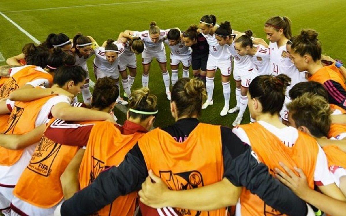 Ruth García marca en la victòria de la selecció espanyola femenina (1-3)