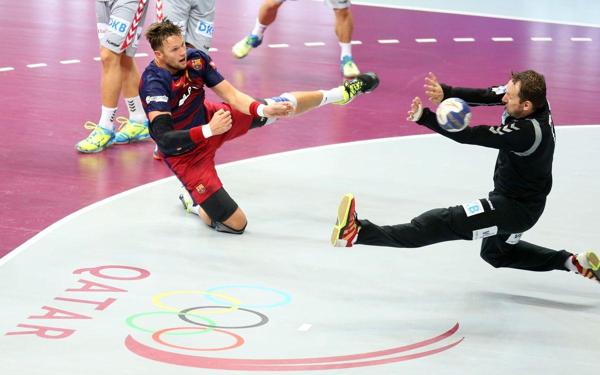 La derrota arriba al Barça Lassa d'handbol nou mesos després