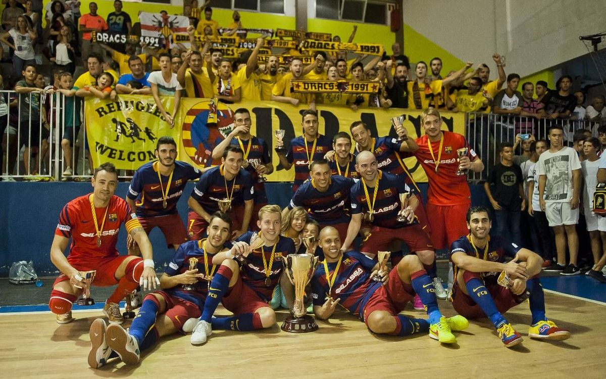 Santa Coloma – FC Barcelona Lassa : Copa Catalunya champions with an inspried Lozano (2-4)