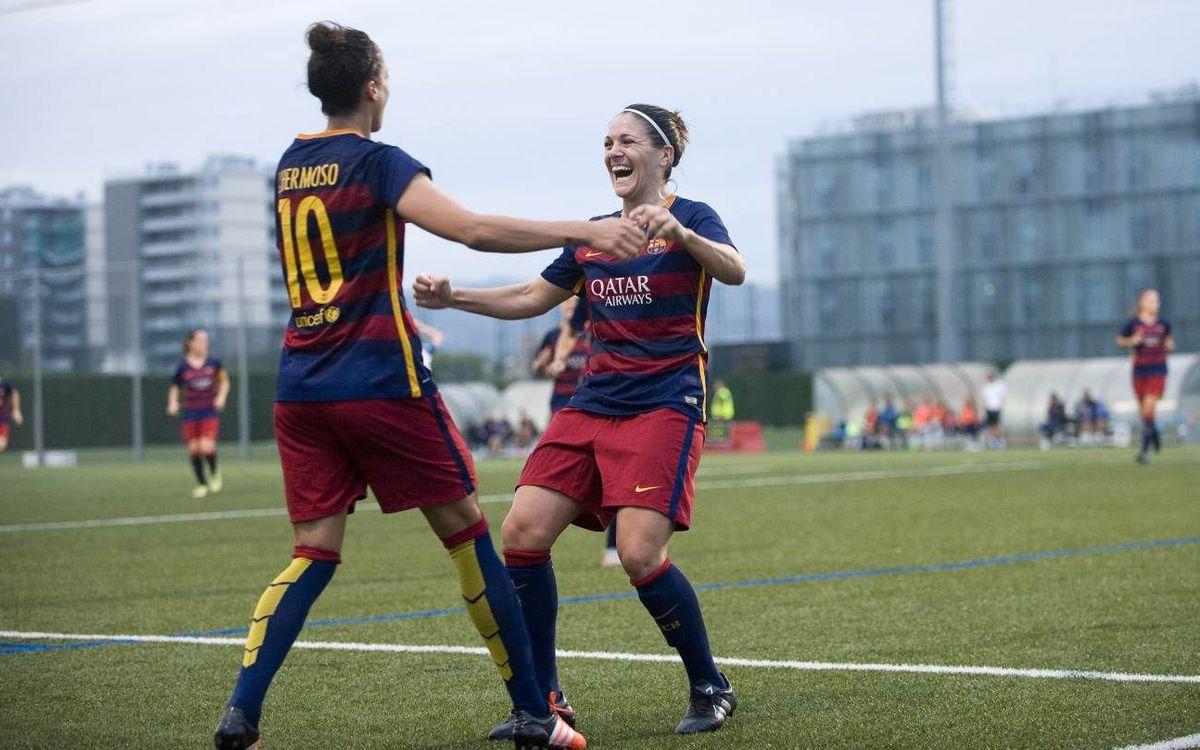 FC Barcelona Women v Transportes Alcaine: Resounding victory (6-0)
