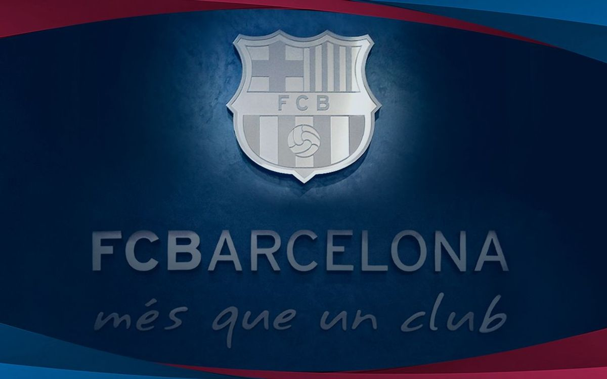 FC Barcelona press release on the UEFA sanction