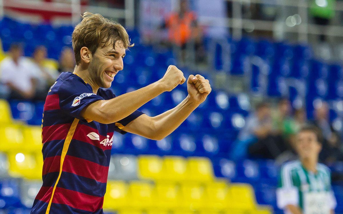 FC Barcelona B 7 – Real Betis FSN 1. Victòria contundent