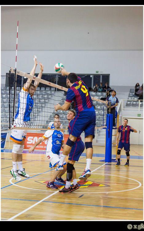 El Barça de voleibol, campió de la Lliga Catalana