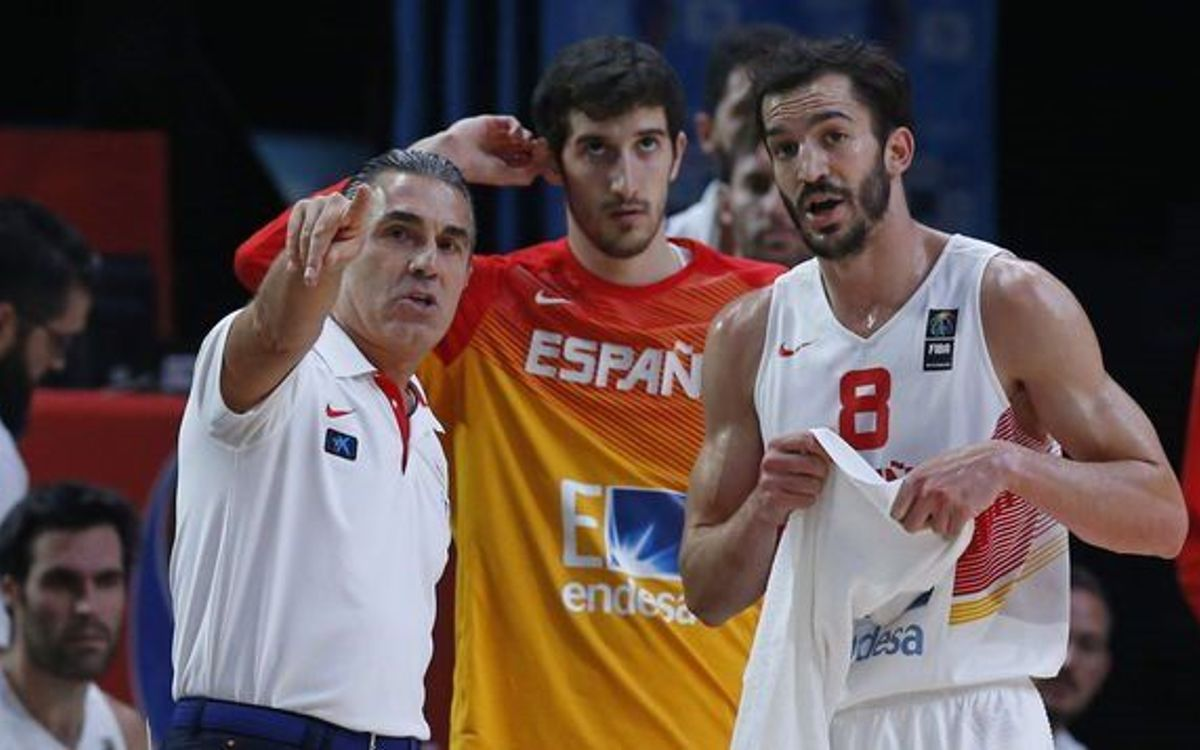 FC Barcelona's Pau Ribas and Spain national team are Eurobasket champions