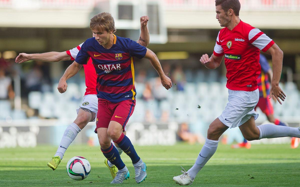 Barça B-Atlètic Balears: El Mini com a punt de partida