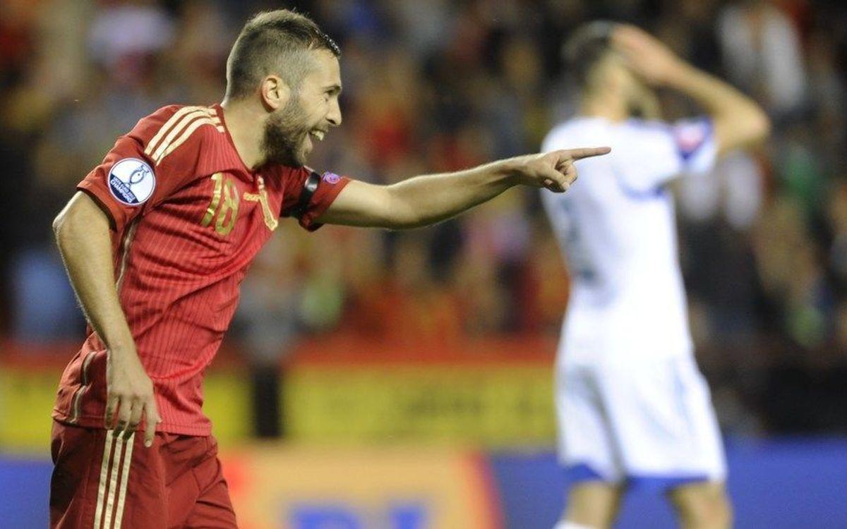 L'Espagne s'impose pour terminer la phase de qualification pour l'Euro 2016