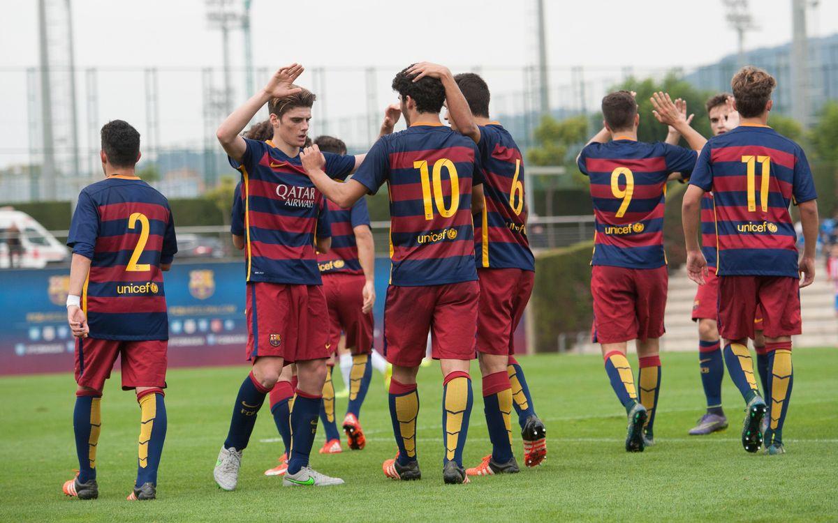 Gimnàstic Tarragona 1-5 FC Barcelona (U19): Second consecutive win