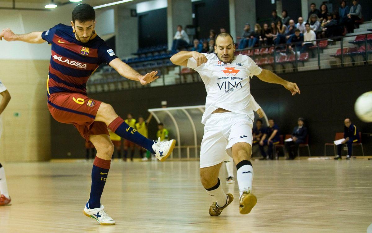 FC Barcelona – FS Valdepeñas: El Barça B consolida la segona posició