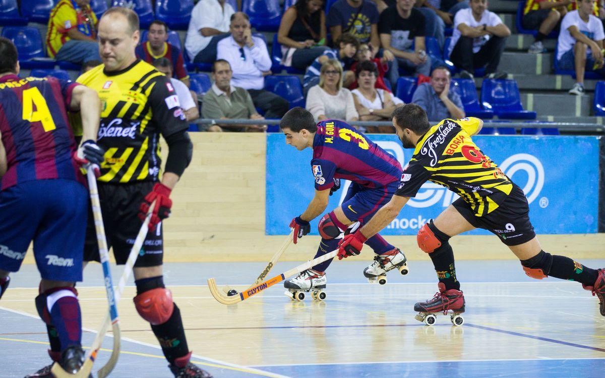 FC Barcelona – Noia Freixenet: Festa de l'hoquei al Palau