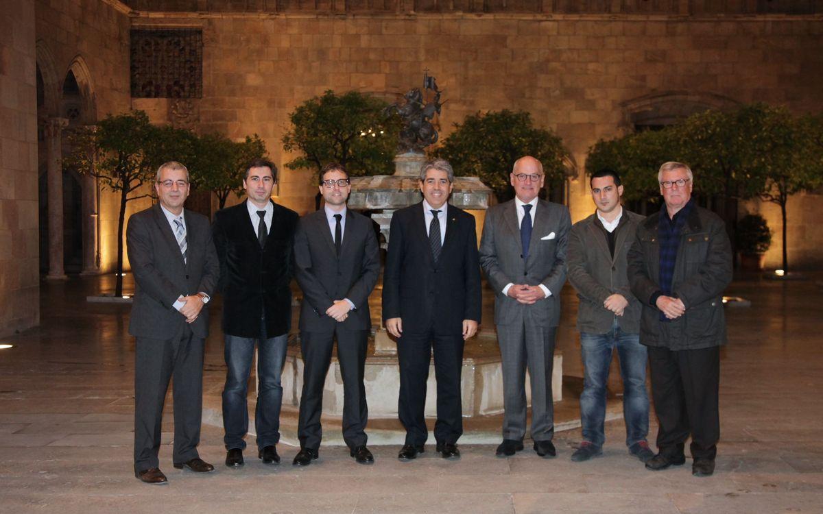 El FC Barcelona s'integra al DiploCat