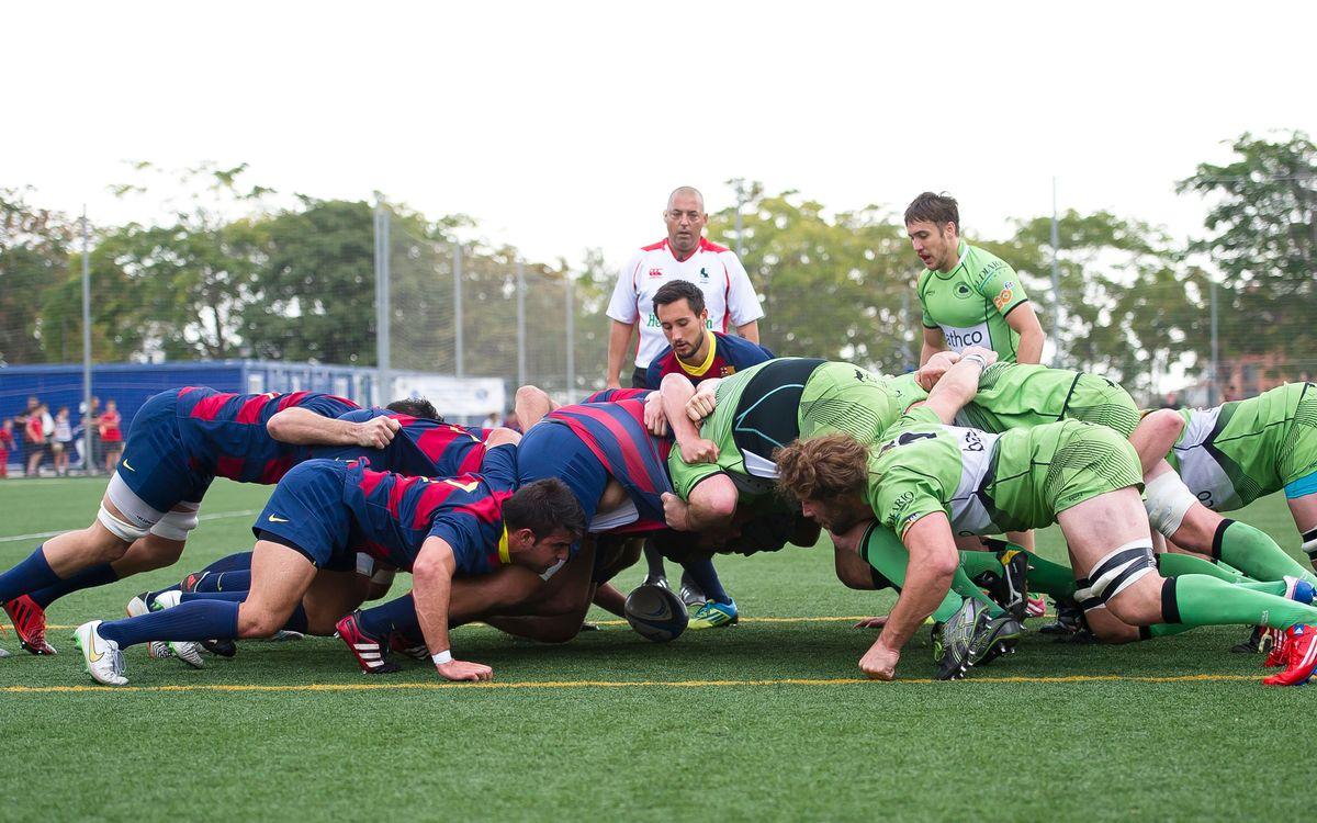 Complutense Cisneros - FC Barcelona. Otra derrota del Barça de rugby (41-23)