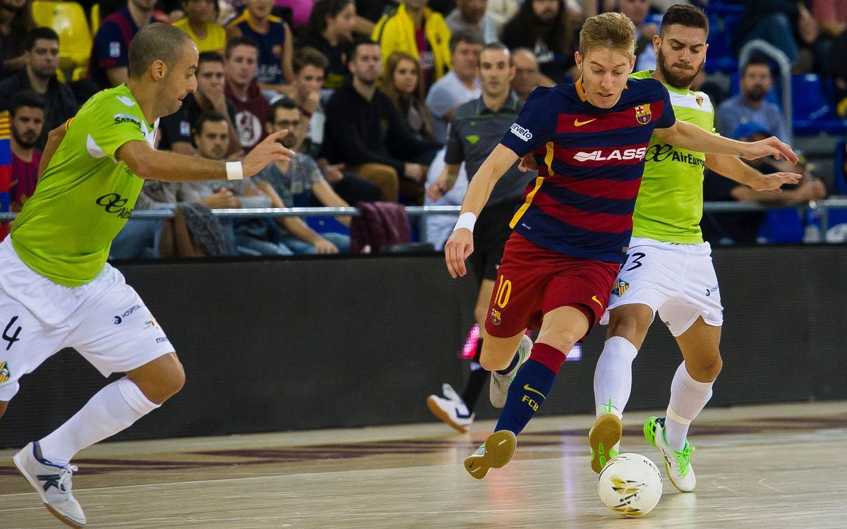 FC Barcelona Lassa - Palma Futsal: Comeback in order (1-2)