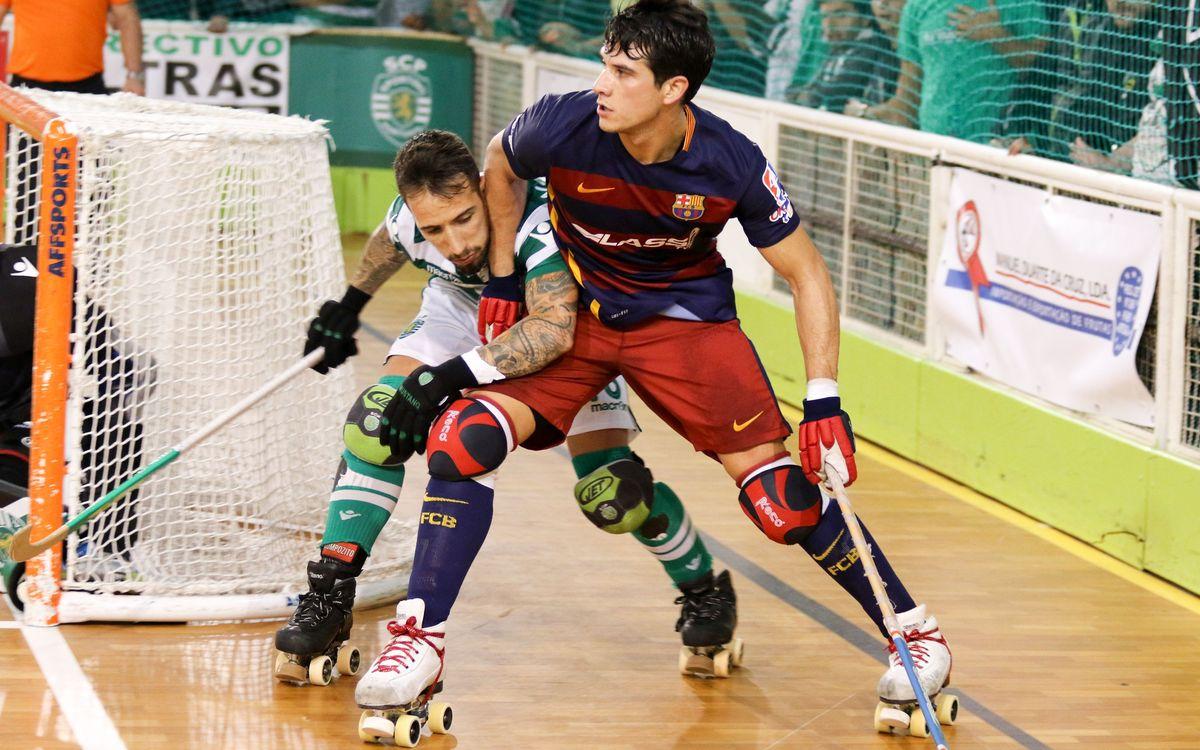 FC Barcelona Lassa - Sporting CP: Només val la remuntada al Palau