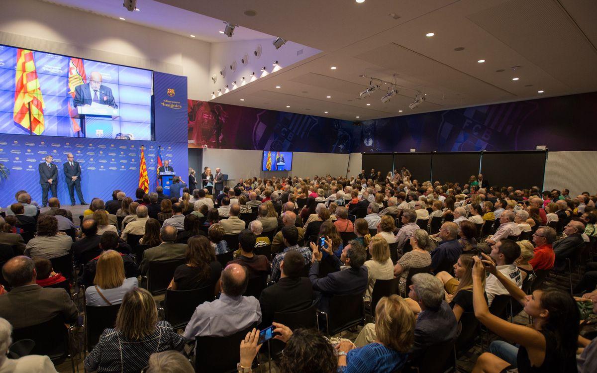 Més de 1.800 socis rebran aquest any la insígnia d'or del FC Barcelona