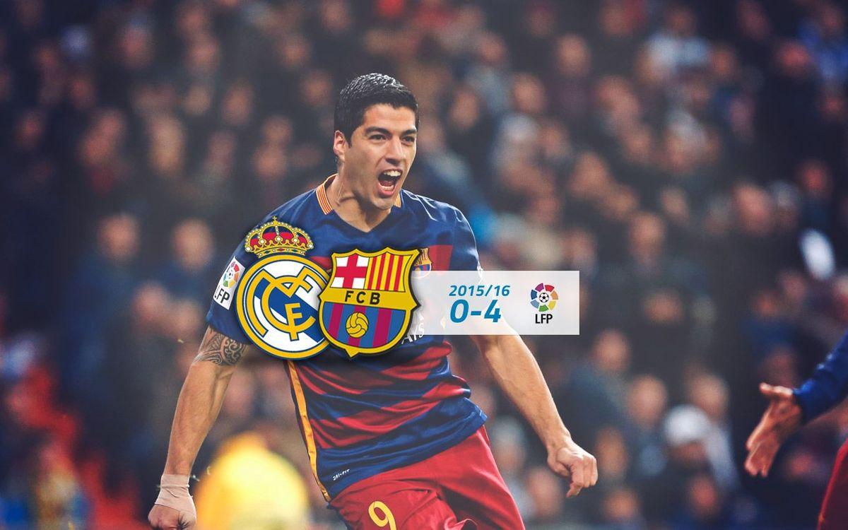 Reial Madrid: 0 - FC Barcelona: 4