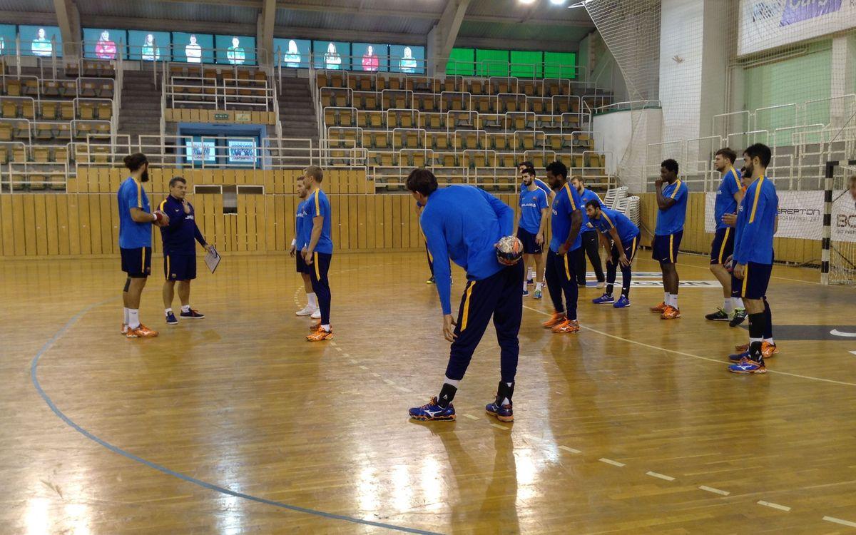 Un dia a Hongria amb el Barça Lassa d'handbol