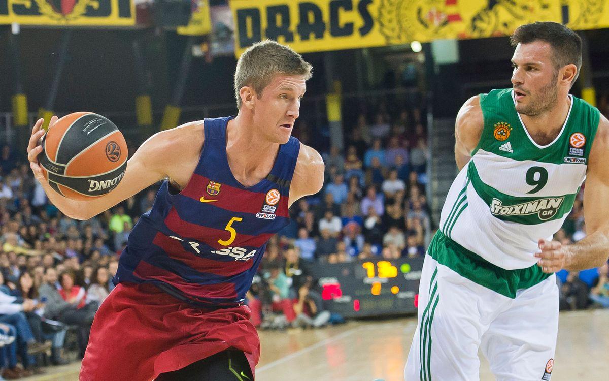 El Barça Lassa mostra la millor defensa davant el Panathinaikos