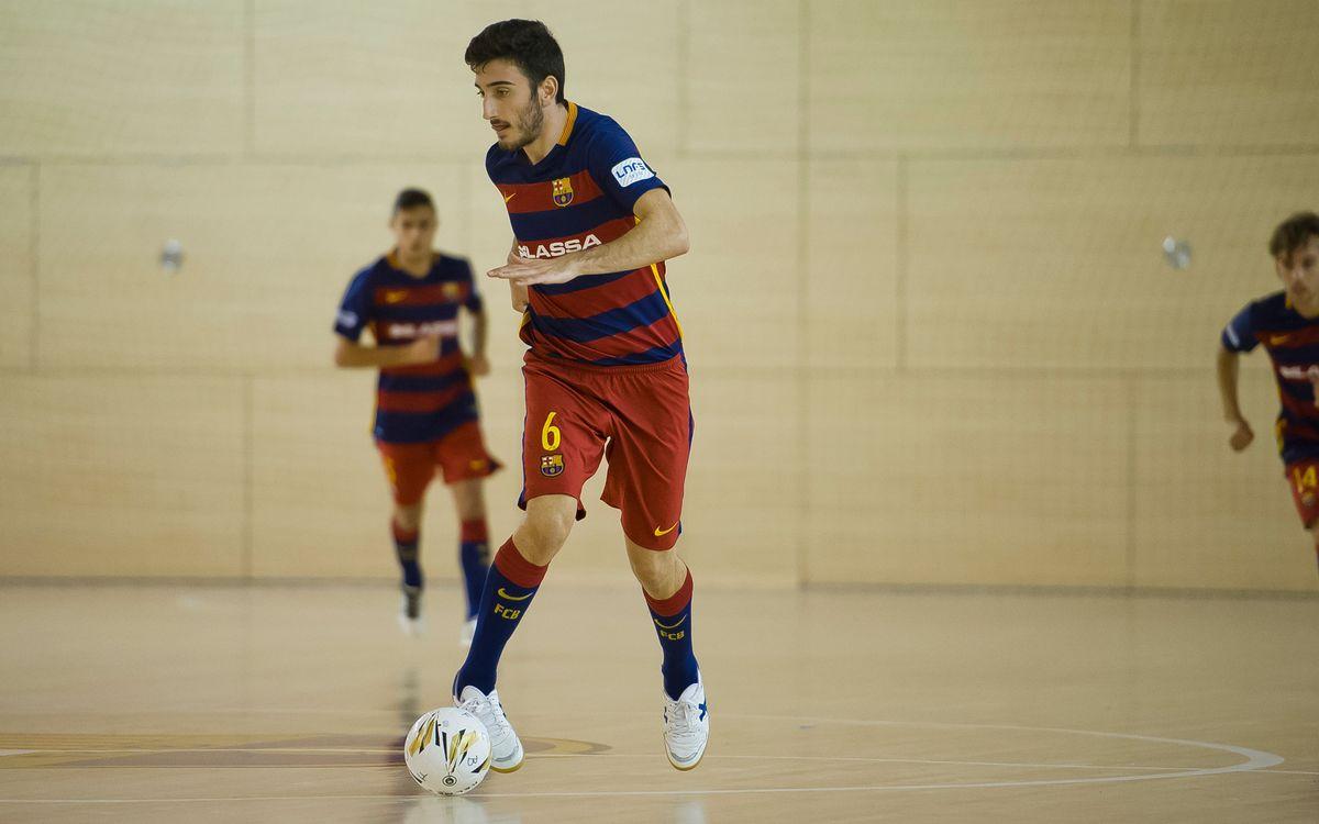 Primera victòria de la temporada per al Barça Lassa B