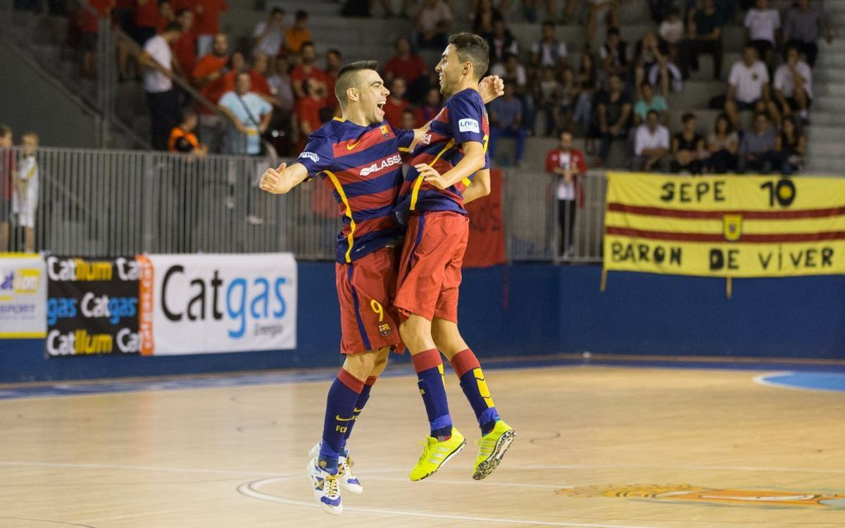 FC Barcelona Lassa come away with gripping 7–6 derby victory at Santa Coloma