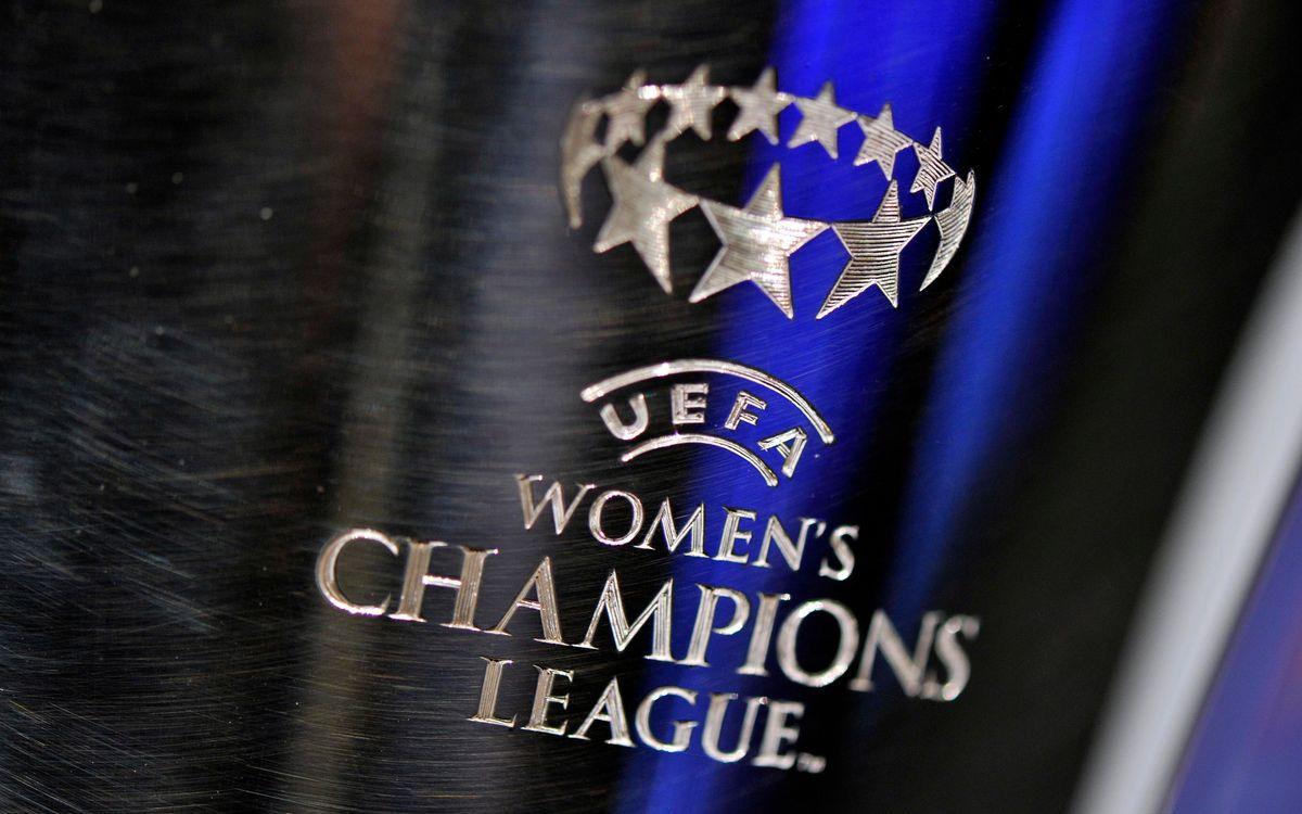 Los siete posibles rivales del Femenino en los cuartos de la Liga de Campeones